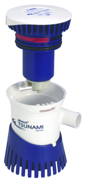 TSUNAMI 1200 CARTRIDGE BILGE PUMP by:  Attwood Part No: 4612-7 - Canada - Canadian Dollars