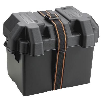 STANDARD BATTERY BOX, BLA by:  Attwood Part No: 9065-1 - Canada - Canadian Dollars