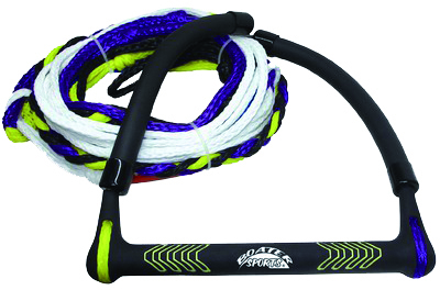 KNEEBOARD TOW ROPE 55  5 SECTIONS POLYPR by:  Boatersports Part No: 52465 - Canada - Canadian Dollars