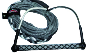 Wakeboard tow rope with 15
