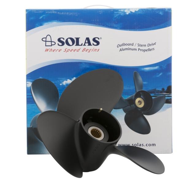 9311-111-14 Solas RUBEX 3 Aluminum Boat Propeller