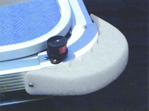 PONTOON BOAT CURVE CORNER PROTECTOR by:  TaylorMade Part No: 31034 - Canada - Canadian Dollars