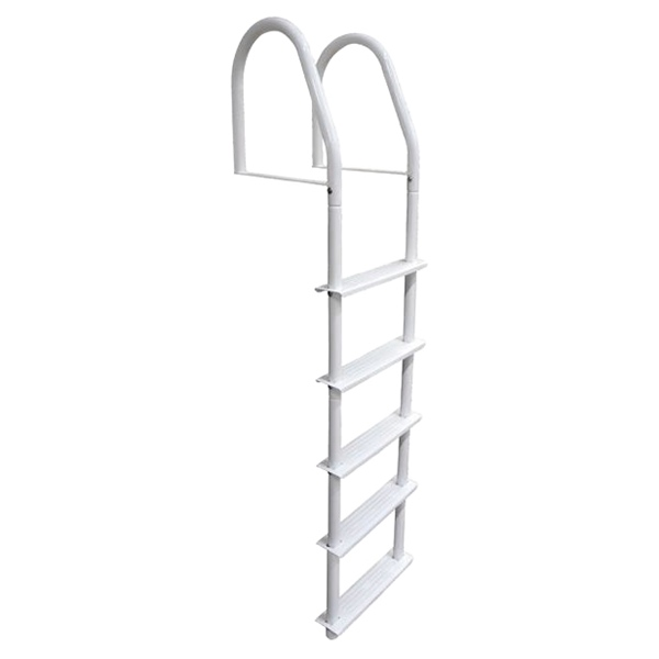 DOCK LADDER,5 STEP,,C/W HARDWARE,WHITE by:  DockEdge Part No: 2105-F - Canada - Canadian Dollars
