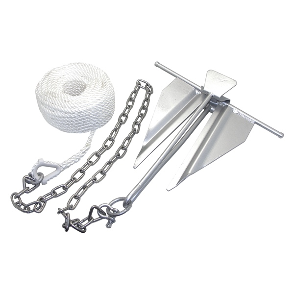 anchor kit-chain-rope-#7 slip ring by:  Boatersports Part No: 50997 - Canada - Canadian Dollars