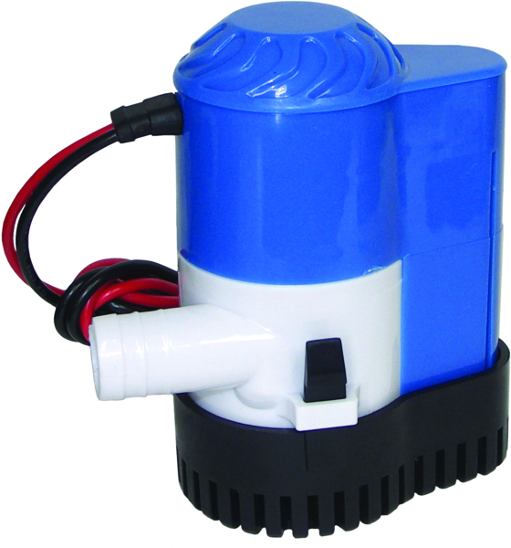 800 GPH Bilge Pump with Float Switch by:  Boatersports Part No: 57422 - Canada - Canadian Dollars