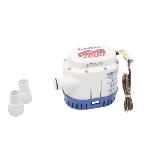 RULE-MATE 2000 AUTOMATIC BILGE PUMP by:  JabscoRule Part No: RM2000A - Canada - Canadian Dollars