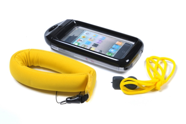 WAVE BLK WATERPROOF PHONE CASE by:  Greenfield Part No: WS13B - Canada - Canadian Dollars