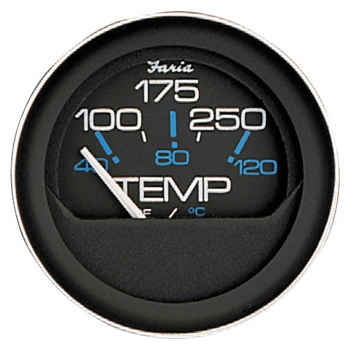 WTR TEMP GAUGE 100-250 CORAL by:  Faria Part No: 13004 - Canada - Canadian Dollars