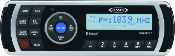 WATERPROOF AM/FM/USB/BLUETOOTH RECEIVER by:  Jensen Part No: MS2013BT - Canada - Canadian Dollars