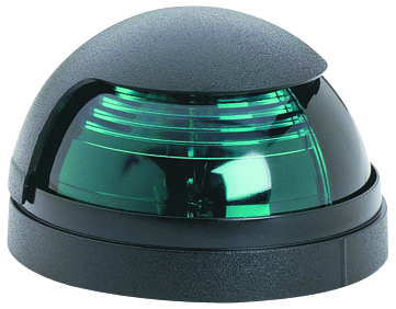 PULSAR 1 MILE GREEN SIDELIGHT,BLACK BASE by:  Attwood Part No: 5040G7 - Canada - Canadian Dollars