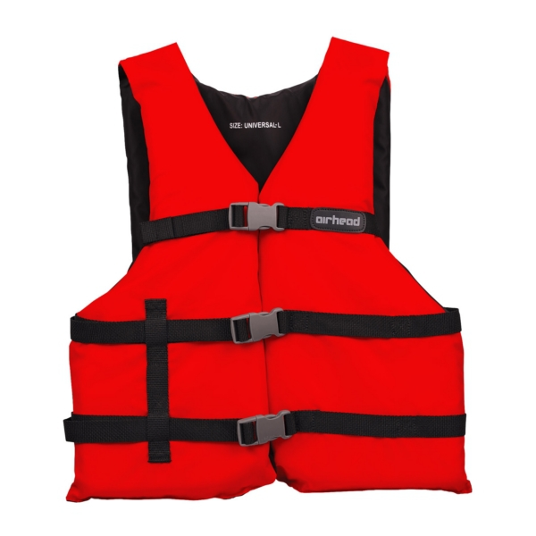 AIRHEAD-Universal Red vest by:  AirheadSportsstuff Part No: 20002-15-A-RD - Canada - Canadian Dollars