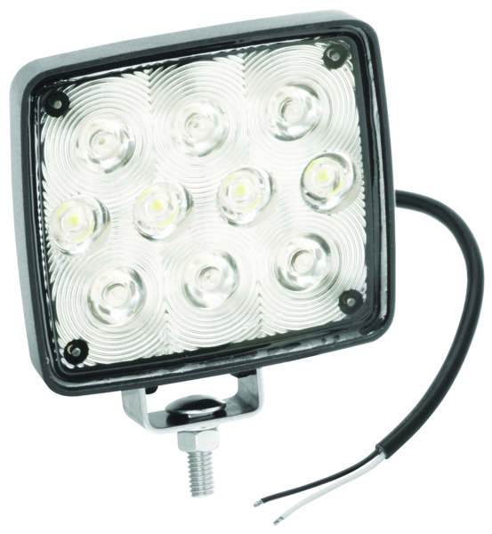 Rectangular Auxiliary LED Work Light w/M by:  FultonWesbar Part No: 54209-002 - Canada - Canadian Dollars