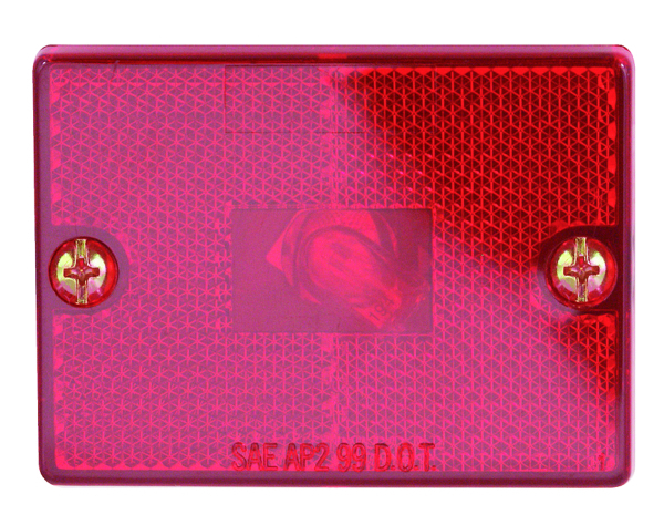 MARKER LIGHT SQUARE RED STUD-MOUNT by:  Optronics Part No: MC36RS - Canada - Canadian Dollars