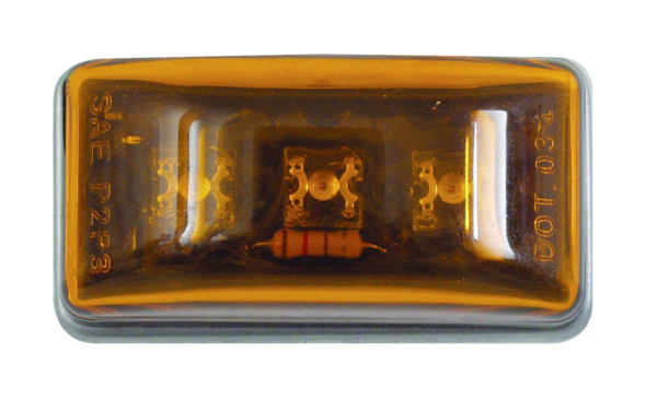 LED AMBER SEALED STUD MOUNT SIDE MARKER by:  Optronics Part No: MCL95AS - Canada - Canadian Dollars