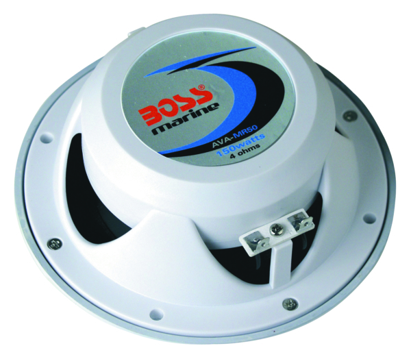 BOSS MARINE COAX SPEAKER (WHT) PAIR by:  BossAudio Part No: MR50W - Canada - Canadian Dollars