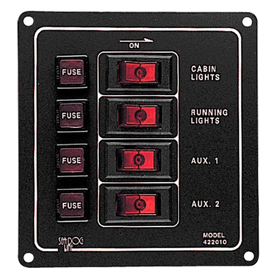 VERTICAL TEST SWITCH (4) by:  SeaDog Part No: 422010-1 - Canada - Canadian Dollars