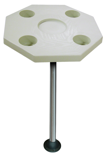 OCTAGON TABLE KIT IVORY W/SURFACE MOUNT by:  Boatersports Part No: DSI-KS - Canada - Canadian Dollars