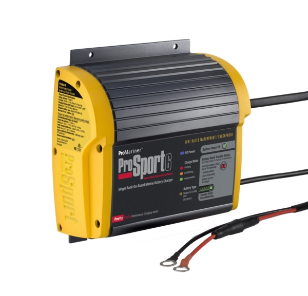 6 AMP-1 BANK BATTERY CHARGER by:  Promariner Part No: 43006 - Canada - Canadian Dollars