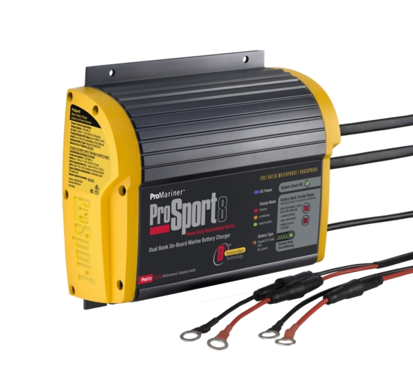 8 AMP-2 BANK BATTERY CHARGER by:  Promariner Part No: 43008 - Canada - Canadian Dollars