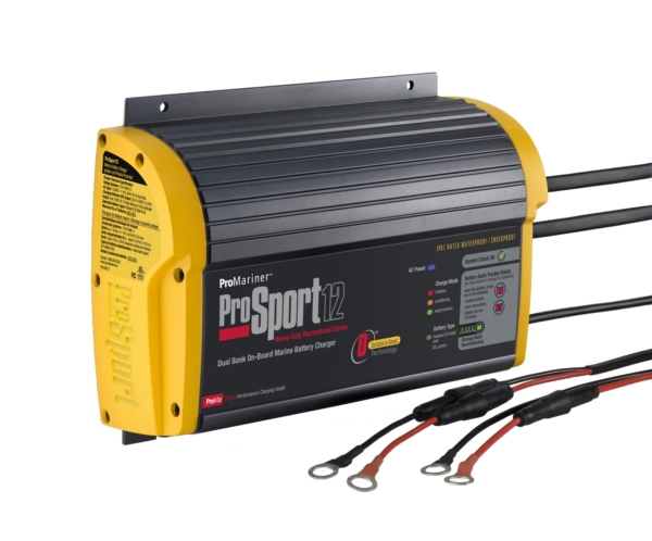 12 AMP 2 BANK BATTERY CHARGER by:  Promariner Part No: 43012 - Canada - Canadian Dollars
