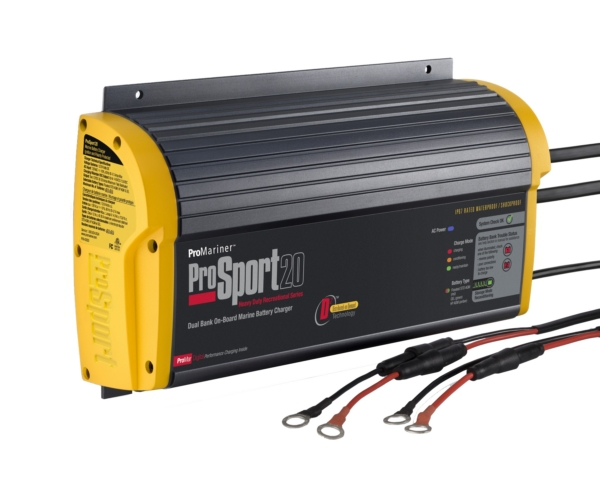 20 AMP 2 BANK BATTERY CHARGER by:  Promariner Part No: 43020 - Canada - Canadian Dollars