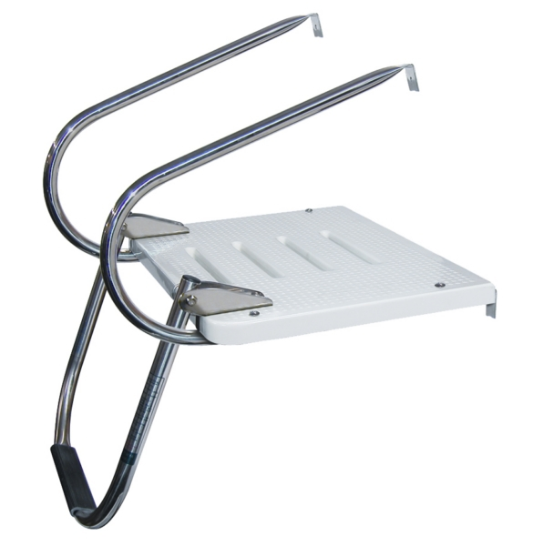 I/O TRANSOM PLATFORM W/2 ARMS SS 316 by:  Boatersports Part No: EEQ - Canada - Canadian Dollars