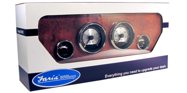 BOXED SET OUTBOARD/TACH/FUEL//VOLT by:  Faria Part No: KTF0183 - Canada - Canadian Dollars