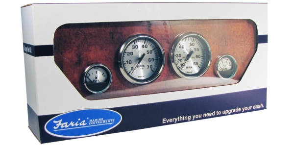 BOXED SET OTBRD SPEED/TACH/FUEL LVL/VOLT by:  Faria Part No: KTF0182 - Canada - Canadian Dollars