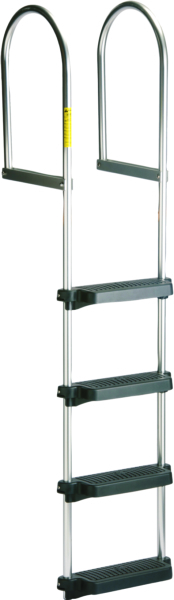 4 STEP FIXED DOCK RAFT LADDER by:  Garelick Part No: 15440:01 - Canada - Canadian Dollars