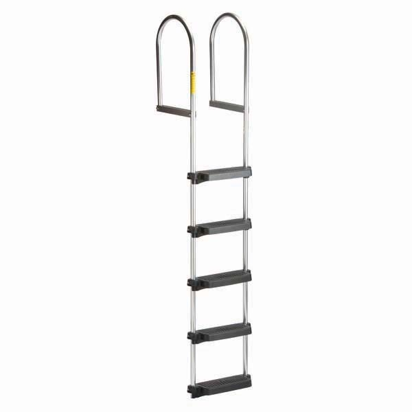 5 STEP FIXED DOCK RAFT LADDER by:  Garelick Part No: 15450:01 - Canada - Canadian Dollars