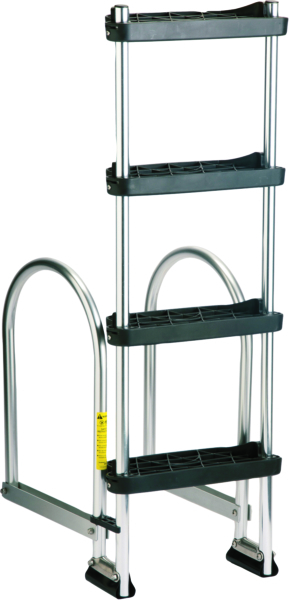 4 STEP FOLDING DOCK RAFT LADDER by:  Garelick Part No: 15640:01 - Canada - Canadian Dollars