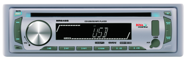 IN-DASH SINGLE-DIN MARIN MP3/CD/AM/FM SI by:  BossAudio Part No: MR648S - Canada - Canadian Dollars