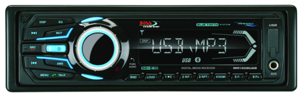IN-DASH SINGLE-DIN MARIN MP3/CD/AM/FM BK by:  BossAudio Part No: MR1308UABK - Canada - Canadian Dollars