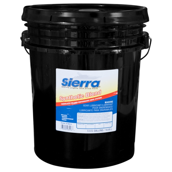 GEAR LUBRICANT HI-PERF 5 GALLON by:  Sierra Part No: 18-9650-5 - Canada - Canadian Dollars
