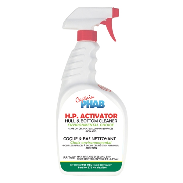 CHOICE HULL& BOTTOM CLEANER 670ml by:  CaptainPhab Part No: 372 - Canada - Canadian Dollars