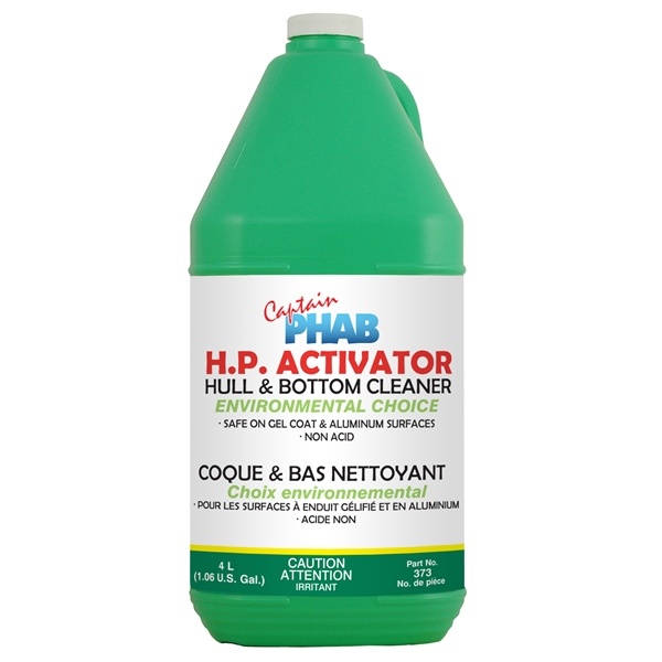 CHOICE HULL & BOTTOM CLEANER 4L by:  CaptainPhab Part No: 373 - Canada - Canadian Dollars