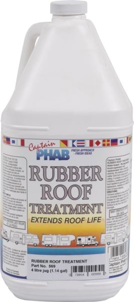 RUBBER ROOF TREAT (UV & Soil Resist.) by:  CaptainPhab Part No: 569 - Canada - Canadian Dollars