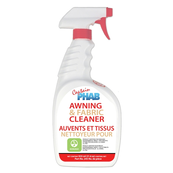 AWNING & FABRIC CLEANER by:  CaptainPhab Part No: 245 - Canada - Canadian Dollars