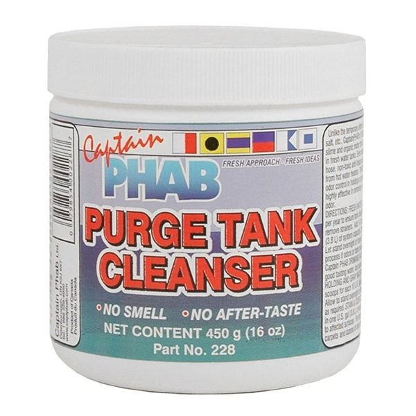 PURGE TANK CLEANSER 450G by:  CaptainPhab Part No: 228 - Canada - Canadian Dollars