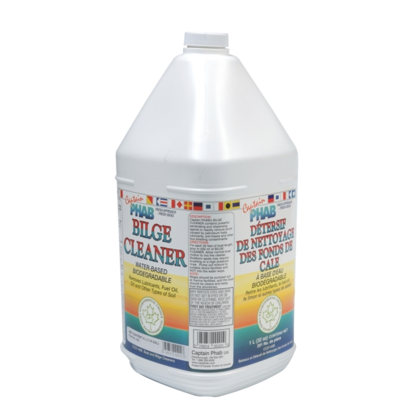 BILGE CLEANER 4L by:  CaptainPhab Part No: 202 - Canada - Canadian Dollars