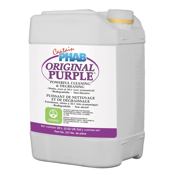 PURPLE POWER CONCENTRATE 20L PAIL by:  CaptainPhab Part No: 237 - Canada - Canadian Dollars