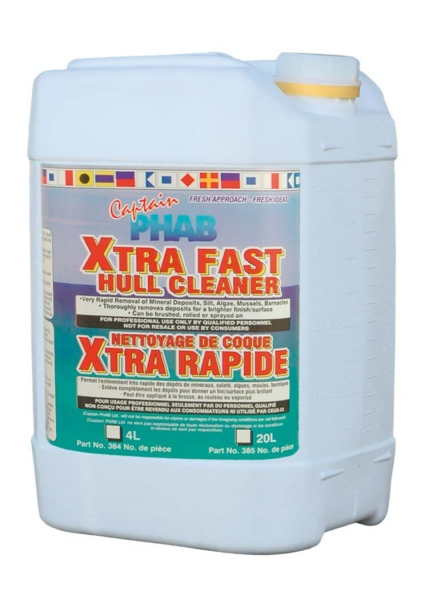 XTRA FAST HULL & BOTTOM CLEANER 20L PAIL by:  CaptainPhab Part No: 385 - Canada - Canadian Dollars