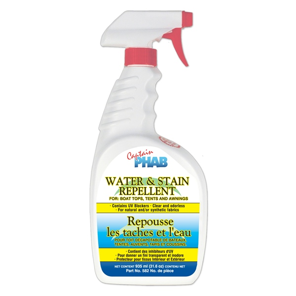 WATER REPELLENT 710ML SPRAYER by:  CaptainPhab Part No: 582 - Canada - Canadian Dollars