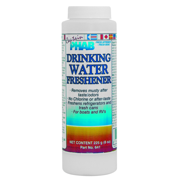 DRINKING WATER FRESHENER 226G by:  CaptainPhab Part No: 641 - Canada - Canadian Dollars