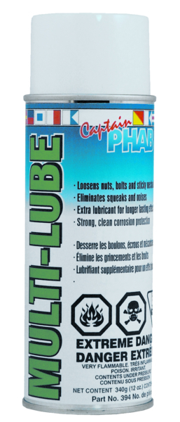 CAPT.PHAB MULTI LUBE by:  CaptainPhab Part No: 394 - Canada - Canadian Dollars