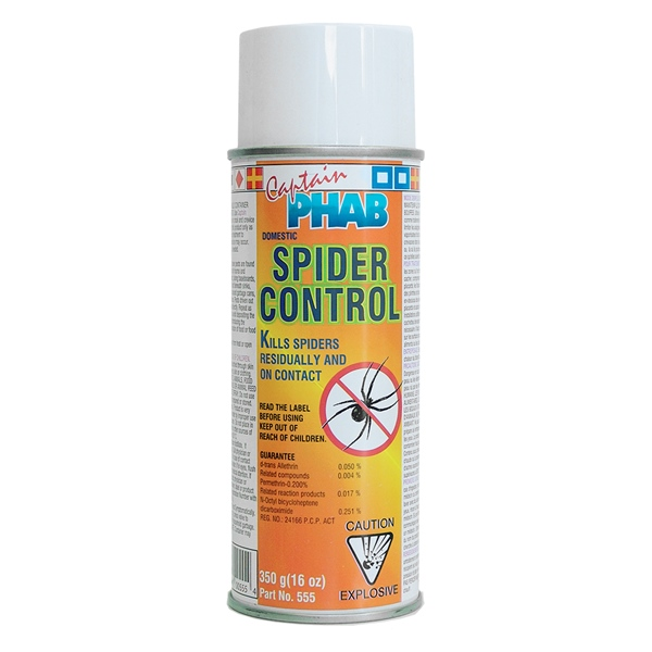 CAPT.PHAB SPIDER CONTROL by:  CaptainPhab Part No: 555 - Canada - Canadian Dollars
