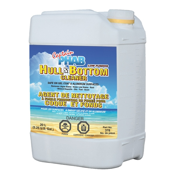 CAPT.PHAB HULL CLEANER 20 L. by:  CaptainPhab Part No: 378 - Canada - Canadian Dollars