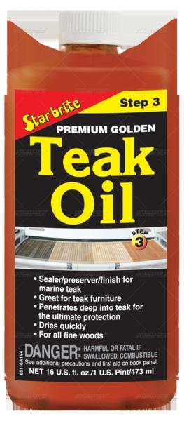GOLDEN TEAK OIL 16OZ. by:  StarBrite Part No: 085116PC - Canada - Canadian Dollars