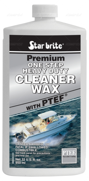 ONE STEP CLEANER WAX 32 oz by:  StarBrite Part No: 089632C - Canada - Canadian Dollars