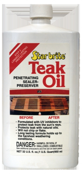 TEAK OIL 32OZ by:  StarBrite Part No: 081632C - Canada - Canadian Dollars